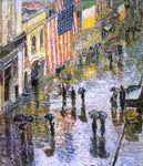 Frederick Childe Hassam St. Patrick's Day, 1919 - Hand Painted Oil Painting