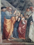 Tommaso Masolino St Peter Preaching - Hand Painted Oil Painting