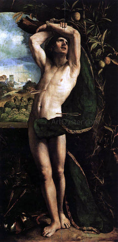 Dosso Dossi St Sebastian - Hand Painted Oil Painting