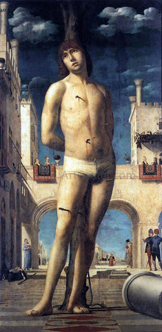 Antonello Da Messina St Sebastian - Hand Painted Oil Painting