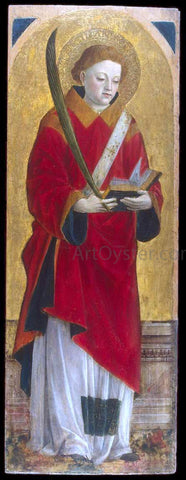 Vincenzo Foppa St Stephen the Martyr - Hand Painted Oil Painting