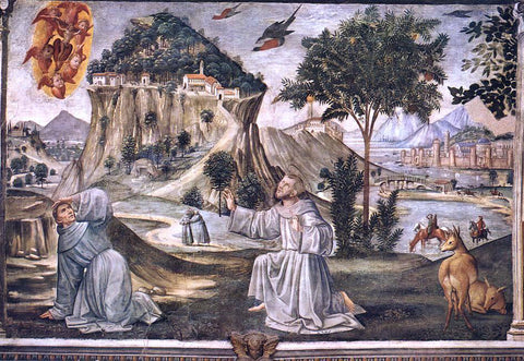 Domenico Ghirlandaio Stigmata of St Francis - Hand Painted Oil Painting