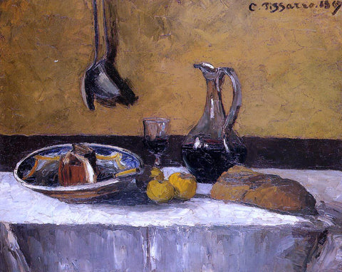 Camille Pissarro Still Life - Hand Painted Oil Painting