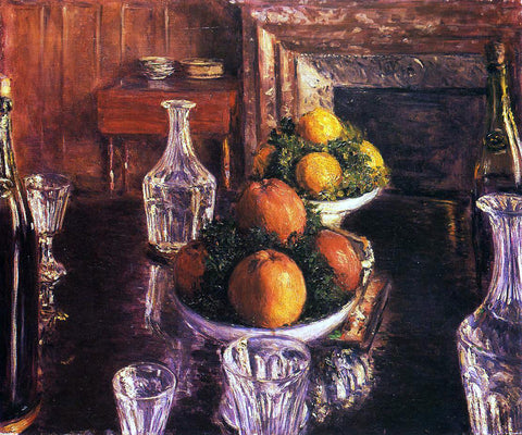 Gustave Caillebotte Still Life - Hand Painted Oil Painting