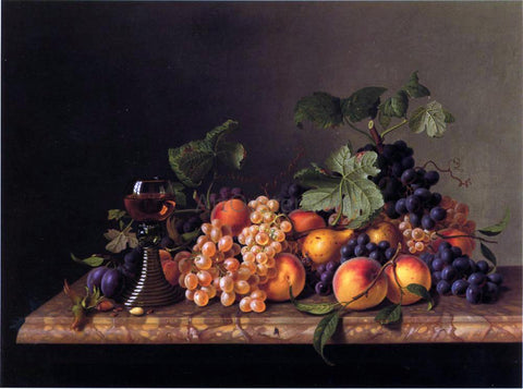Werner Hunzinger Still Life - Hand Painted Oil Painting