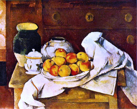 Paul Cezanne Still Life - Hand Painted Oil Painting