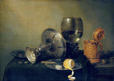Willem Claesz Heda Still Life - Hand Painted Oil Painting