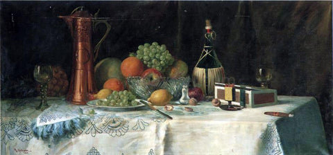 Robert Schade Still Life - Hand Painted Oil Painting