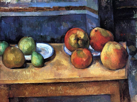 Paul Cezanne Still Life - Apples and Pears - Hand Painted Oil Painting