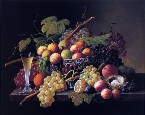 Severin Roesen Still Life - Hand Painted Oil Painting