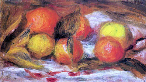 Pierre Auguste Renoir Still Life - Hand Painted Oil Painting