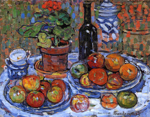 Maurice Prendergast Still Life - Hand Painted Oil Painting
