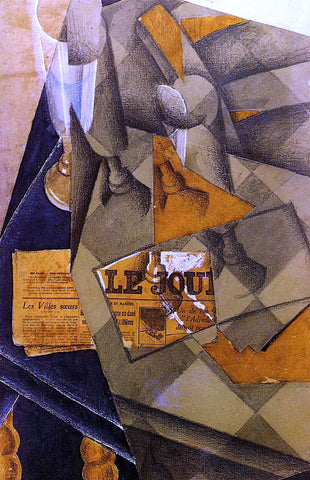 Juan Gris Still Life - Hand Painted Oil Painting
