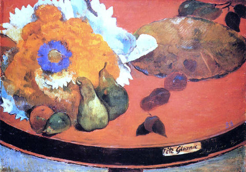 Paul Gauguin Still Life, Fete Gloanec - Hand Painted Oil Painting
