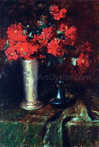 William Merritt Chase Still Life: Flowers - Hand Painted Oil Painting
