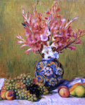 Pierre Auguste Renoir Still Life - Flowers and Fruit - Hand Painted Oil Painting