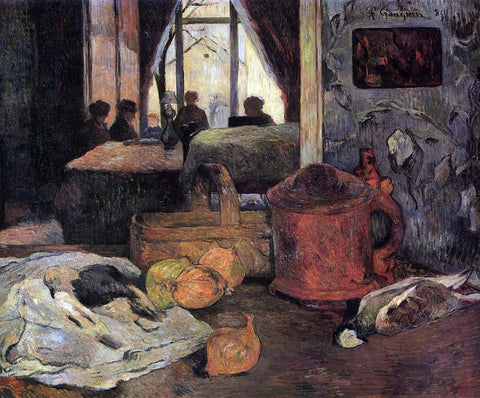 Paul Gauguin Still Life in an Interior, Copenhagen - Hand Painted Oil Painting