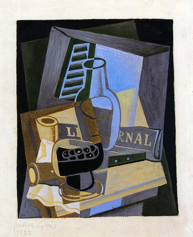 Juan Gris Still Life in Front of the Window - Hand Painted Oil Painting