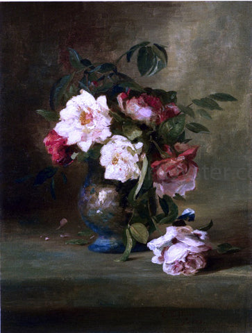 Charles Ethan Porter Still Life of Flowers - Hand Painted Oil Painting