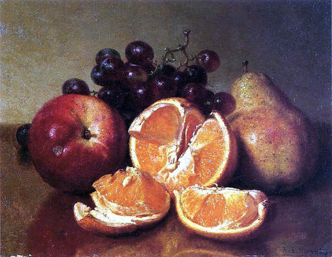 Robert Spear Dunning Still Life of Fruit - Hand Painted Oil Painting