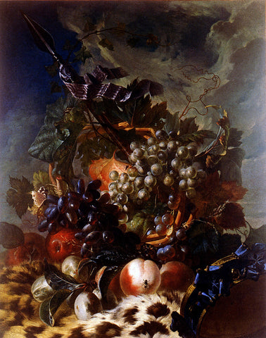 Luis Paret Y Alcazar Still Life of Fruit - Hand Painted Oil Painting