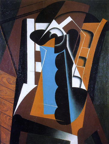 Juan Gris Still Life on a Chair - Hand Painted Oil Painting
