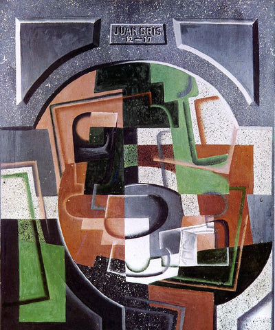 Juan Gris Still Life on Plaque - Hand Painted Oil Painting