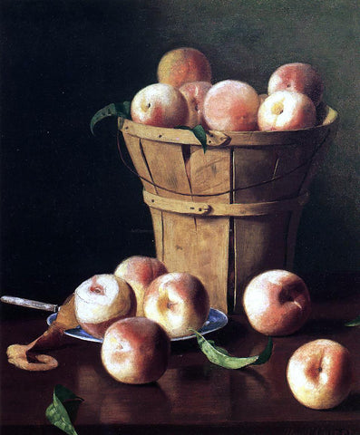 Thomas Cromwel Corner Still Life - Peaches - Hand Painted Oil Painting