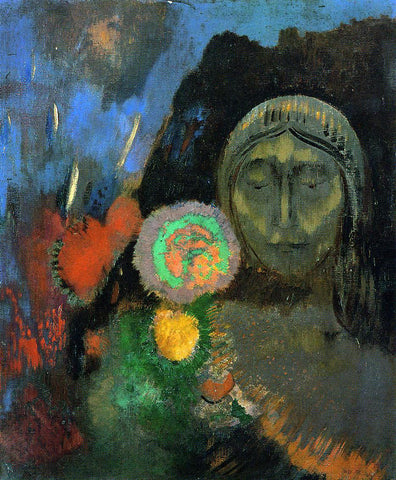 Odilon Redon Still Life: The Dream - Hand Painted Oil Painting