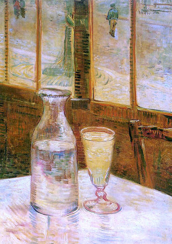 Vincent Van Gogh Still Life with Absinthe - Hand Painted Oil Painting