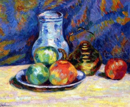 Armand Guillaumin Still Life with Apples - Hand Painted Oil Painting