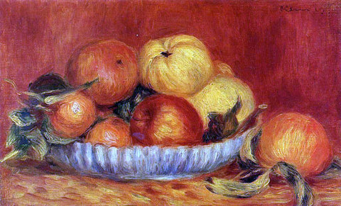 Pierre Auguste Renoir Still Life with Apples and Oranges - Hand Painted Oil Painting