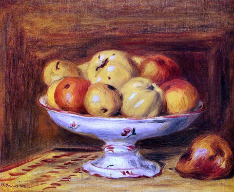 Pierre Auguste Renoir Still Life with Apples and Pears - Hand Painted Oil Painting
