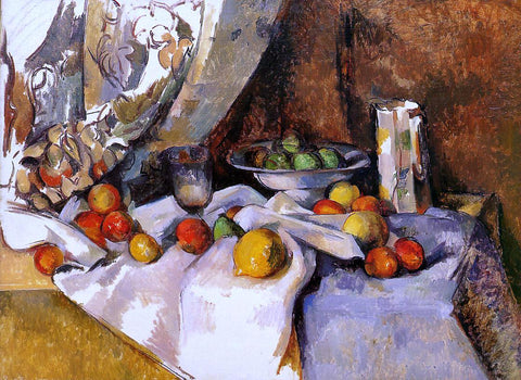 Paul Cezanne Still Life with Apples - Hand Painted Oil Painting
