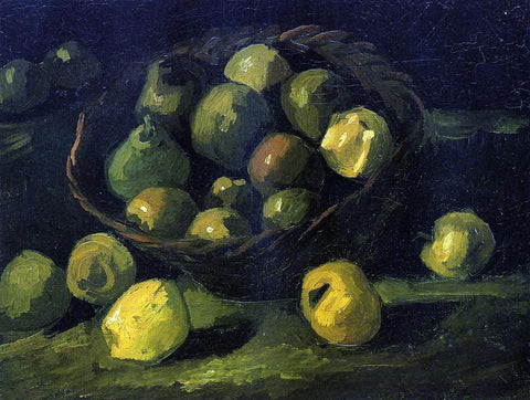 Vincent Van Gogh Still Life with Basket of Apples - Hand Painted Oil Painting