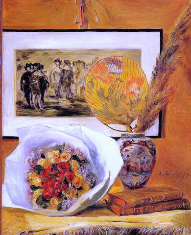 Pierre Auguste Renoir Still Life with Bouquet - Hand Painted Oil Painting