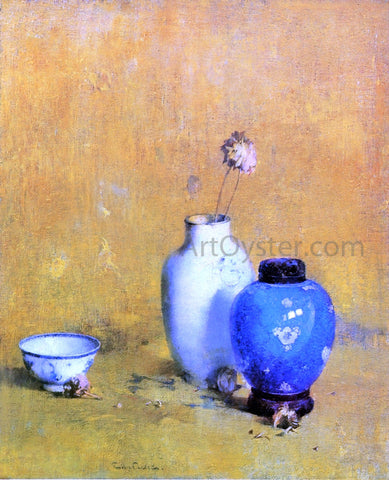 Emil Carlsen Still LIfe with Chinese Porcelain - Hand Painted Oil Painting