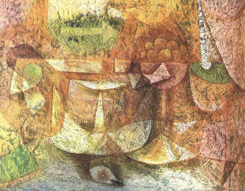 Paul Klee Still Life with Dove - Hand Painted Oil Painting