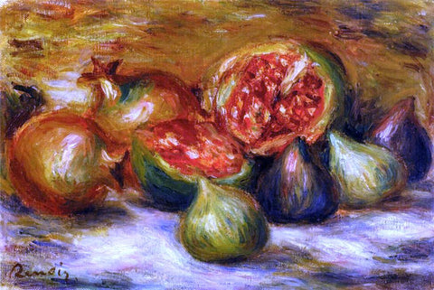 Pierre Auguste Renoir Still Life with Figs - Hand Painted Oil Painting