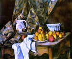 Paul Cezanne Still Life with Flower Holder - Hand Painted Oil Painting