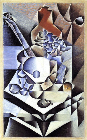 Juan Gris Still Life with Flowers - Hand Painted Oil Painting