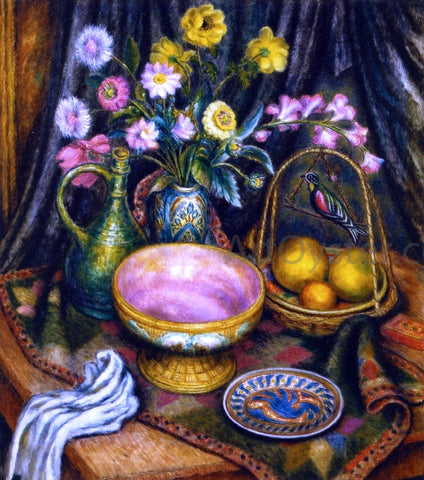 Middleton Manigault Still Life with Flowers - Hand Painted Oil Painting