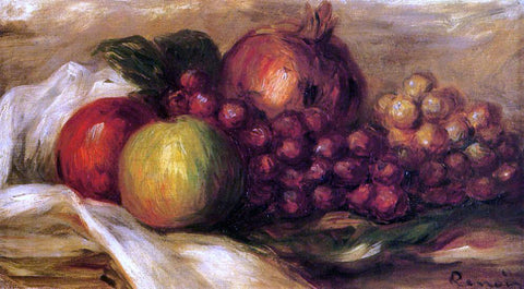 Pierre Auguste Renoir Still Life with Fruit - Hand Painted Oil Painting