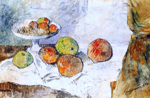 Paul Gauguin Still Life with Fruit Plate - Hand Painted Oil Painting
