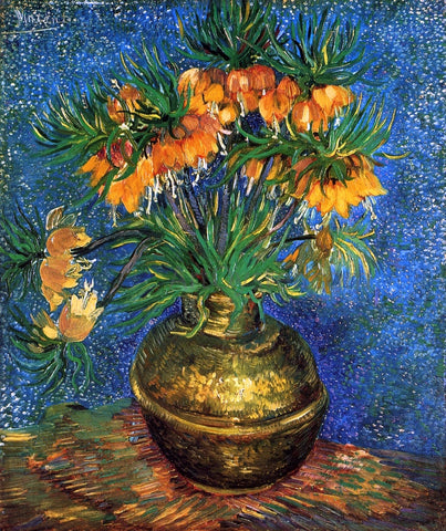 Vincent Van Gogh Still Life with Frutillarias - Hand Painted Oil Painting
