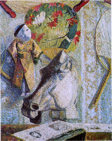 Paul Gauguin Still Life with Horse's Head - Hand Painted Oil Painting