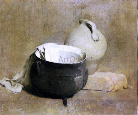 Emil Carlsen Still Life with Kettle and Jug - Hand Painted Oil Painting