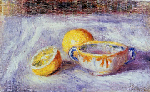 Pierre Auguste Renoir Still Life with Lemons - Hand Painted Oil Painting