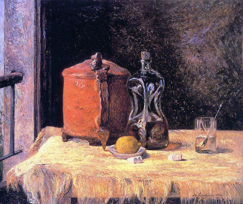 Paul Gauguin Still Life with Mug and Carafe - Hand Painted Oil Painting