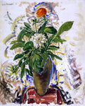 Alfred Henry Maurer Still Life with Orange Carnation - Hand Painted Oil Painting